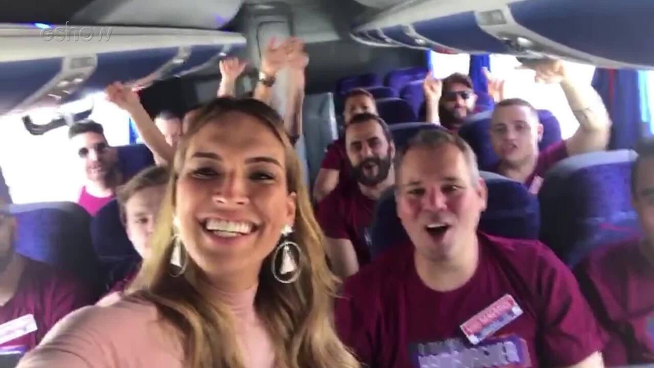 Talitha Morete leva finalistas do 'Melhor Hambúrguer do Brasil' para os Estúdios Globo