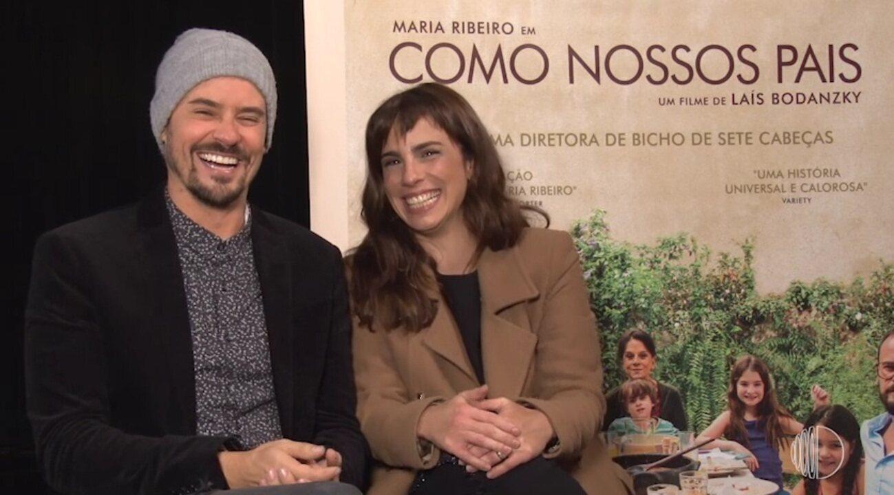Como Nossos Pais: Maria Ribeiro e Paulo Vilhena falam sobre filme