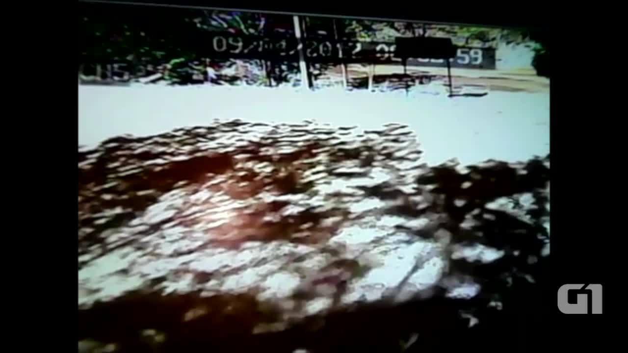 Vídeo mostra momento em que carro cai em mirante de Taquaruçu