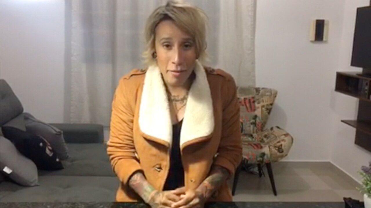 Luana Camarah faz convite para o The Voice Reencontro