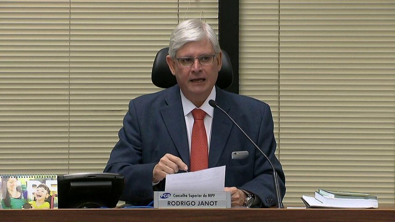 'Ninguém prevalece acima da lei', afirma o procurador-geral da República