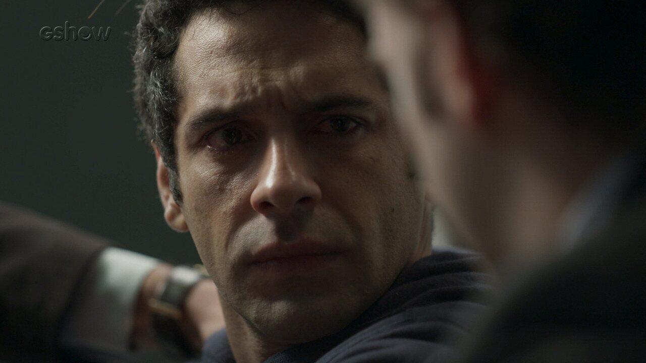 Teaser 'Pega Pega' 5/9 - Agnaldo chora ao ser preso