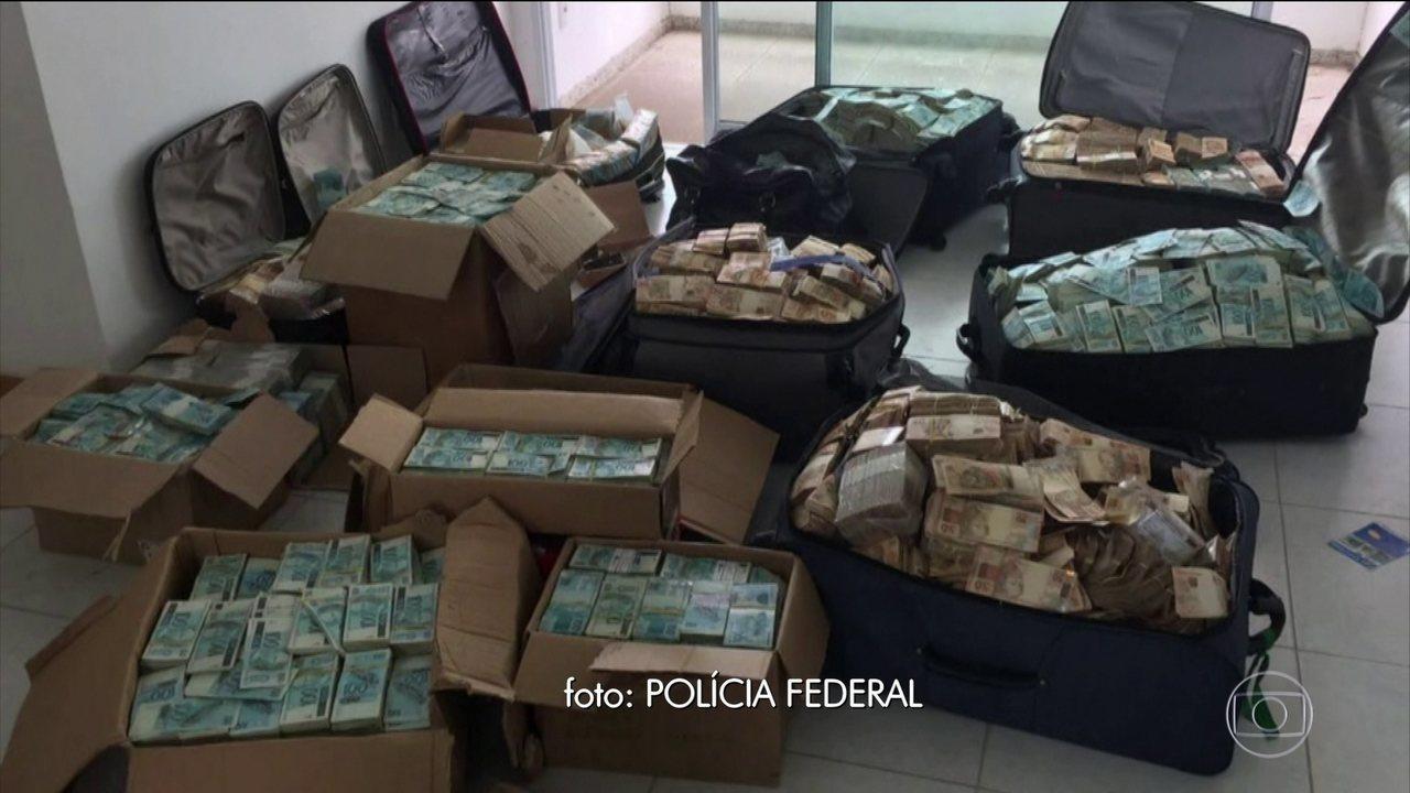Vídeo: Em 2017, PF encontrou malas e caixas de dinheiro em apartamento que seria usado por Geddel na Bahia