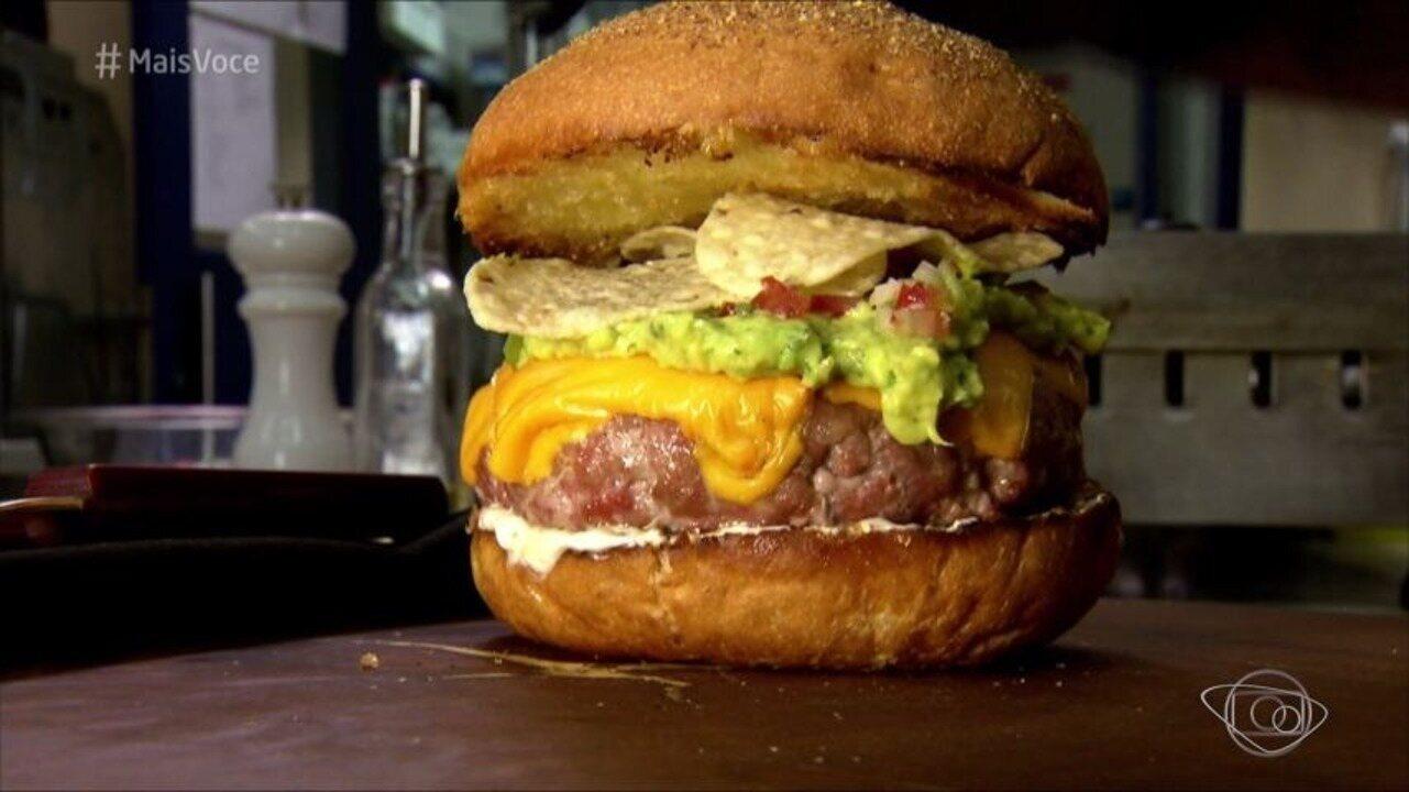 Veja a receita do hambúrguer apresentado pelo capixaba no +VC