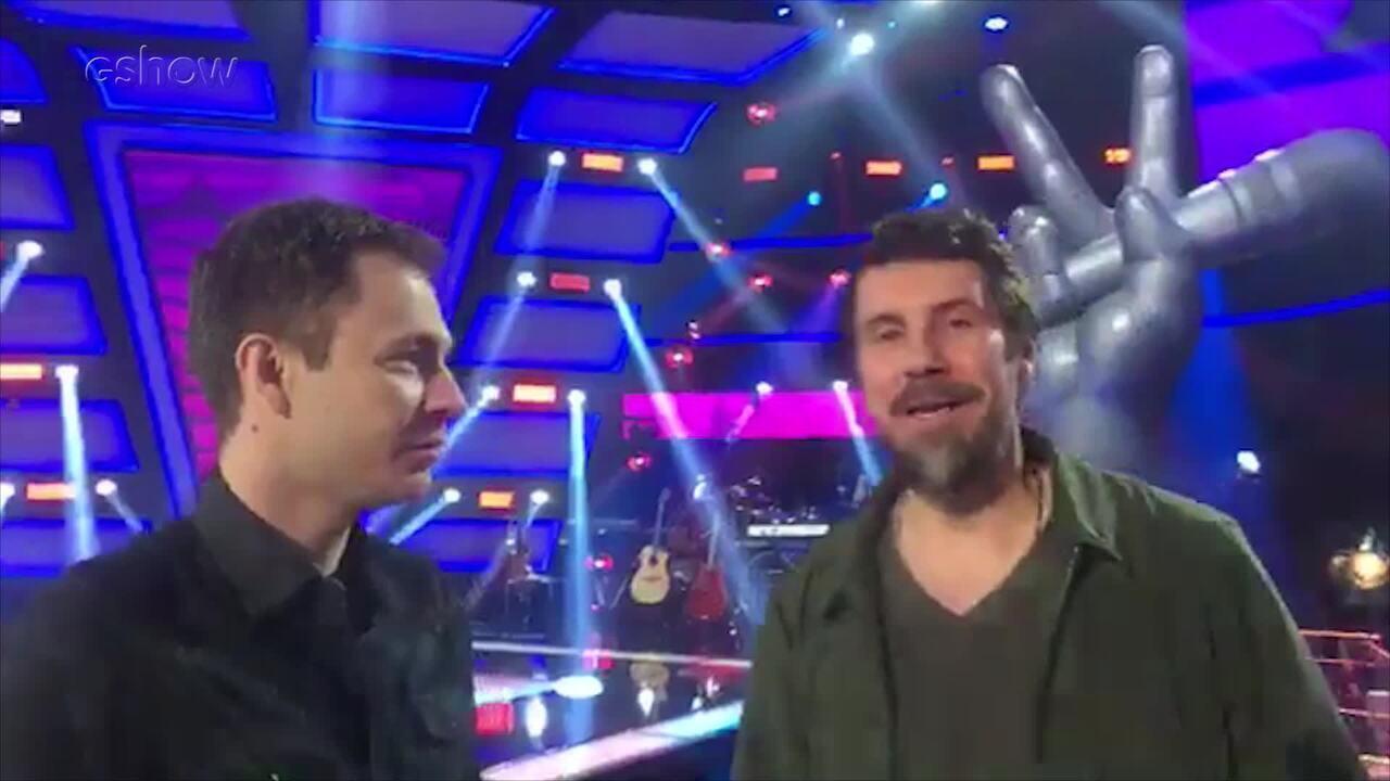 Tiago Leifert e diretor do 'The Voice Brasil' adiantam novidades da sexta temporada