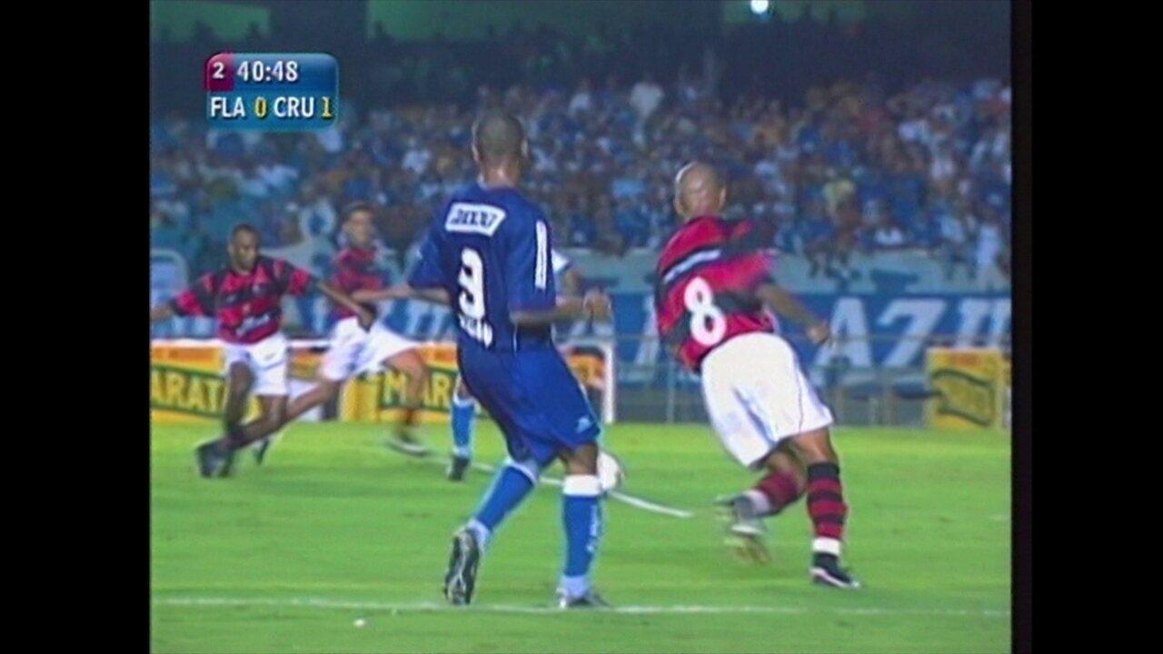 Ex-Jogadores relembram decisão da Copa do Brasil 2003 e entre Cruzeiro e Flamengo