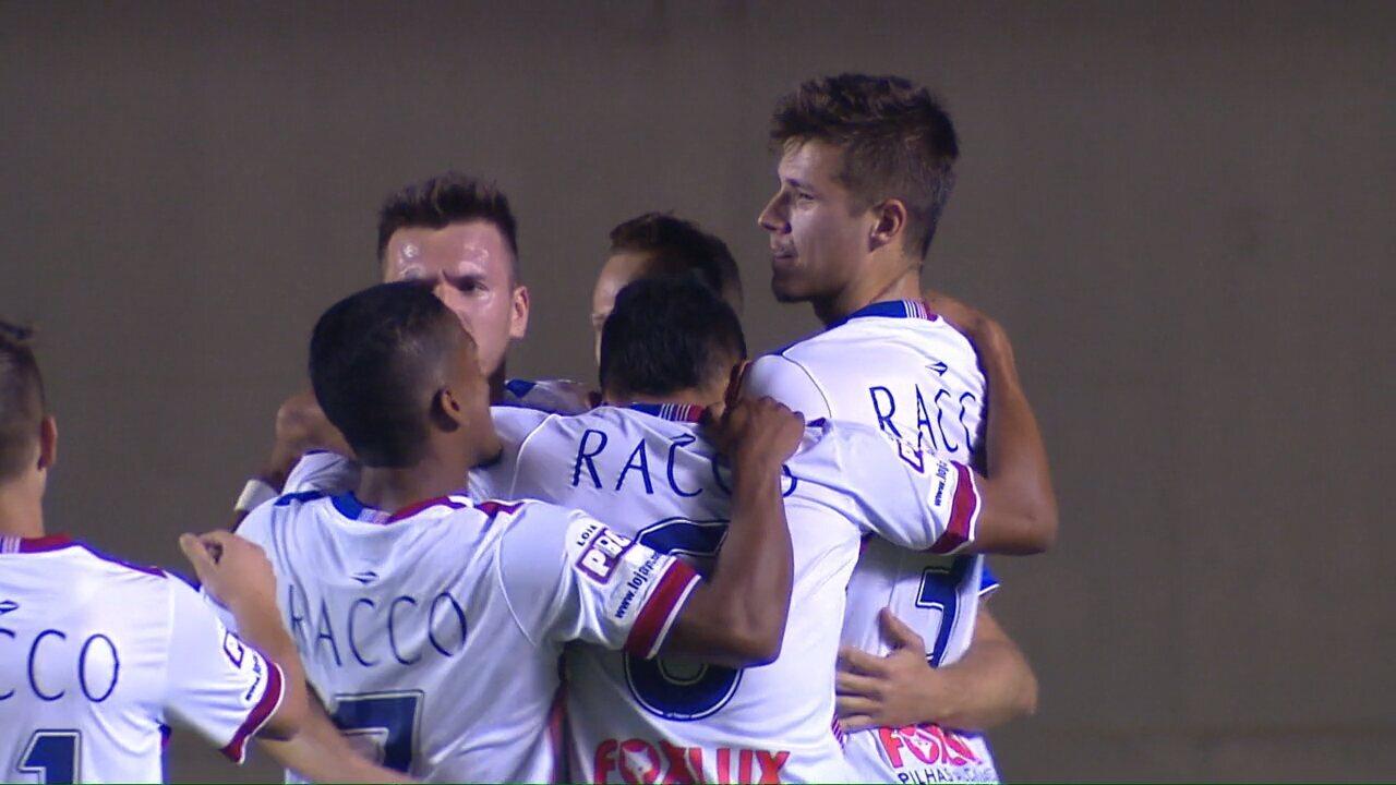 Veja os melhores momentos do jogo entre Goiás e Paraná
