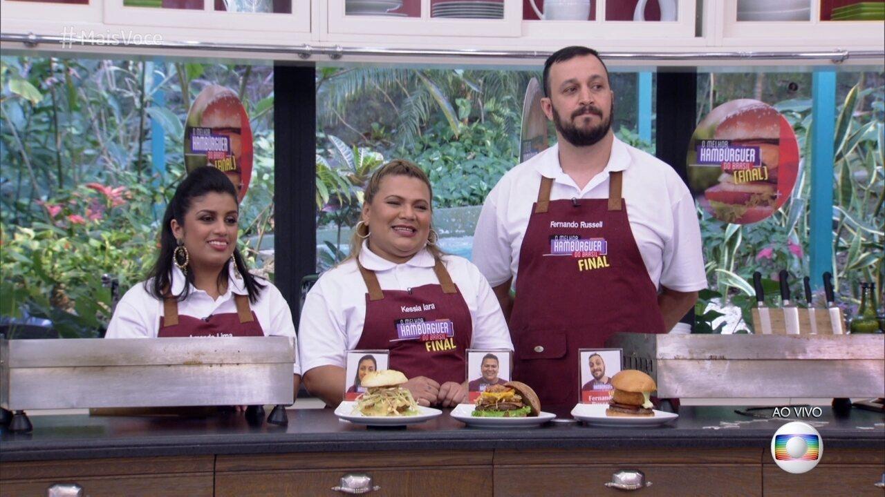 Fernando Russel ganha o concurso 'O Melhor Hambúrguer do Brasil'