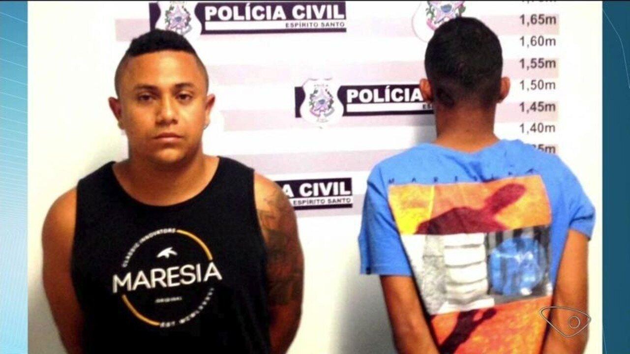 Dois homens são presos suspeitos de cometer crimes em Pinheiros e Montanha, no ES