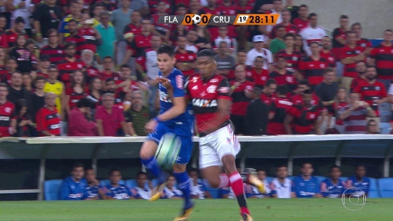 Melhores momentos de Flamengo 1 x 1 Cruzeiro pelo primeiro jogo da final da Copa do Brasil