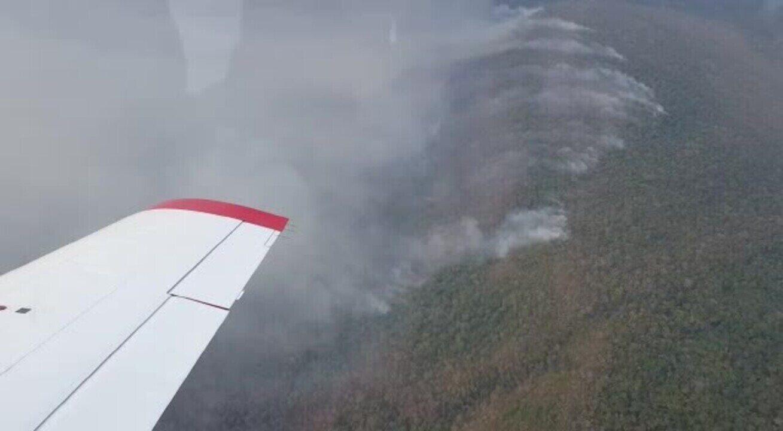 Incêndio atinge Parque Serra de Ricardo Franco (MT)