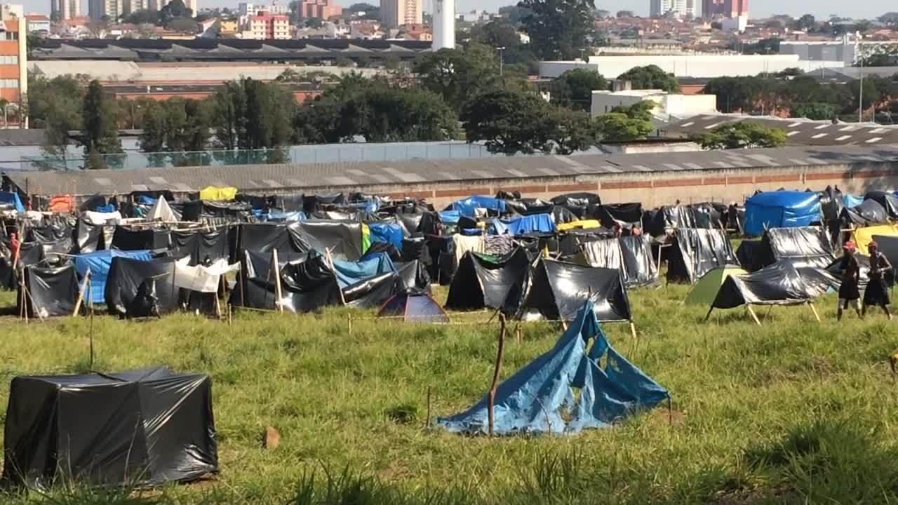 MTST ocupa terreno em São Bernardo do Campo e Justiça autoriza reintegração de posse