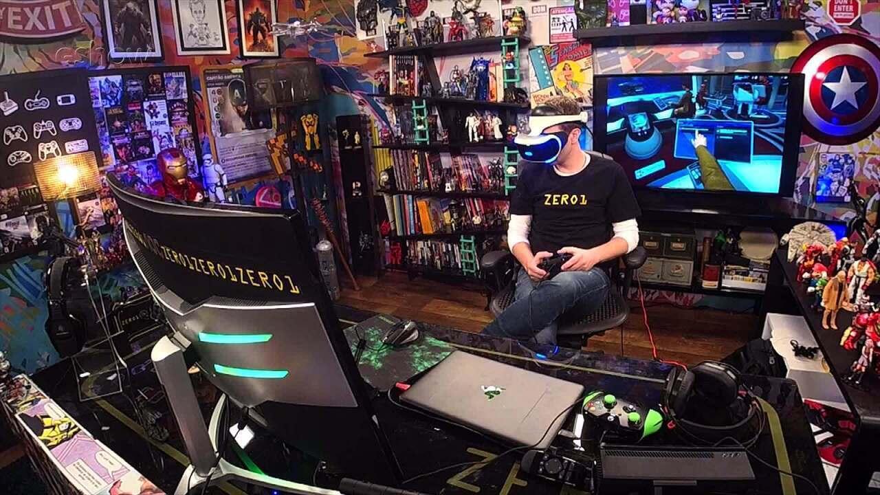 Tiago Leifert dá dicas de como jogar Gameplay estendido de Star Trek Bridge Crew VR