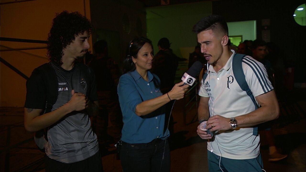 Jogadores deram entrevista lado a lado na saída do estádio, o que foi utilizado pela defesa