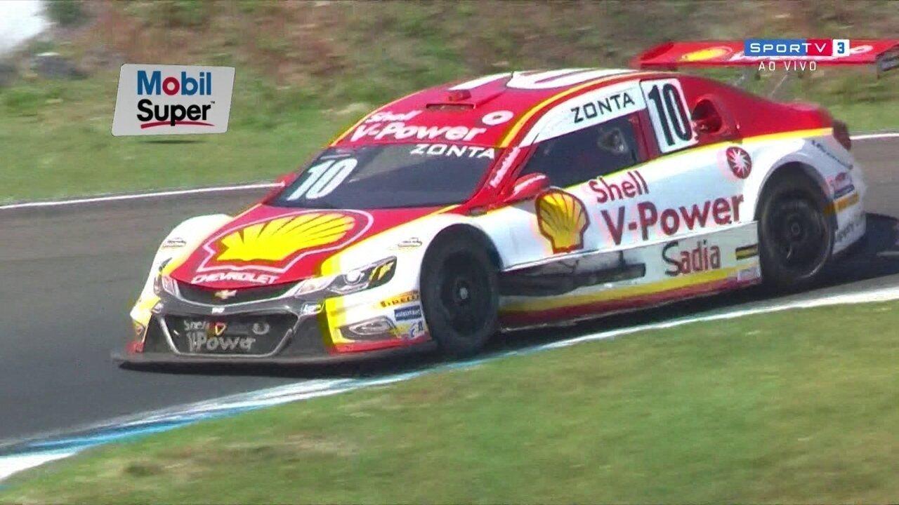Ricardo Zonta vence segunda corrida na Etapa da Stock Car em Londrina