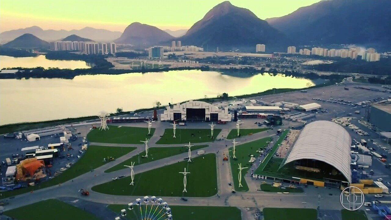 Rock In Rio: Drone do G1 faz um tour pela estrutura da 7ª edição do festival de rock
