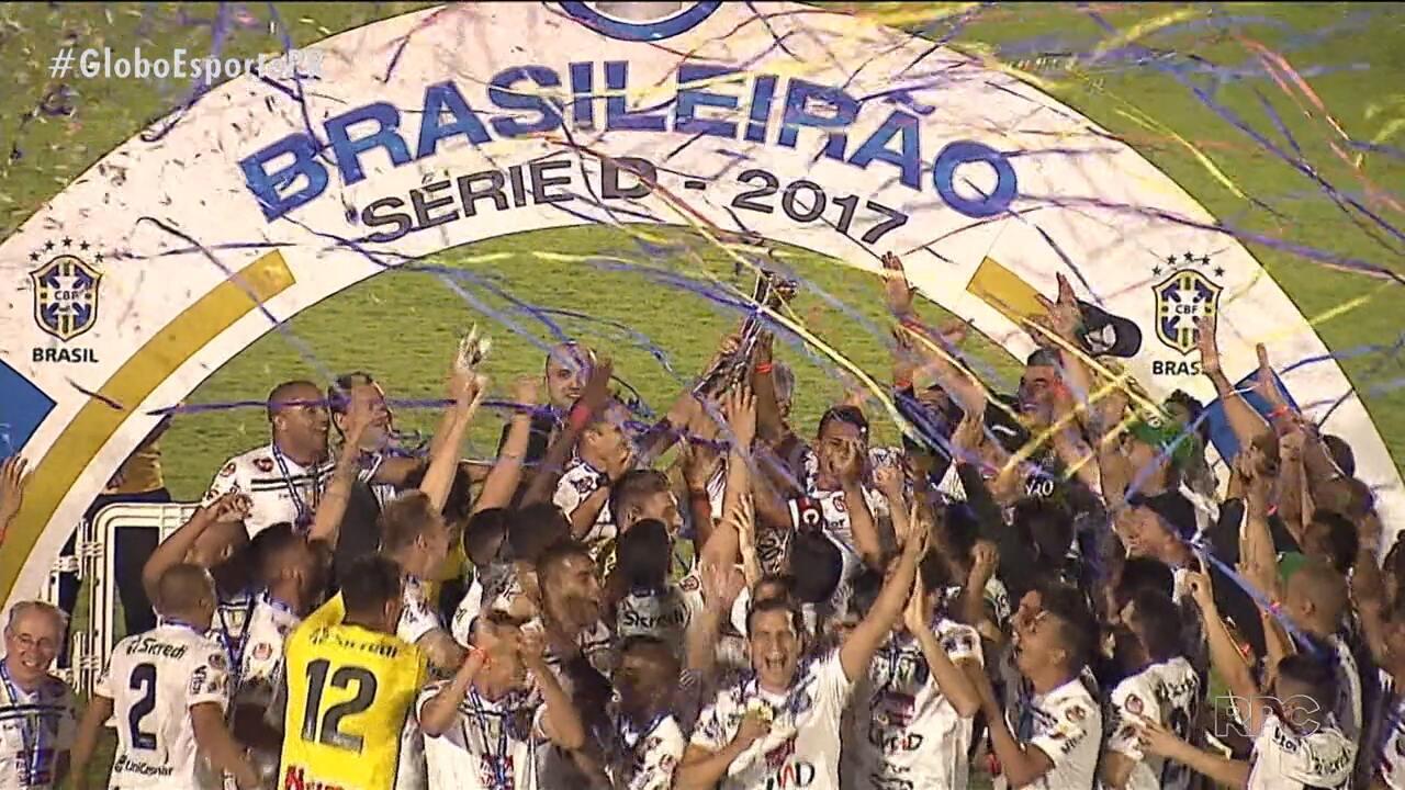 Operário-PR é campeão da Série D do Brasileirão