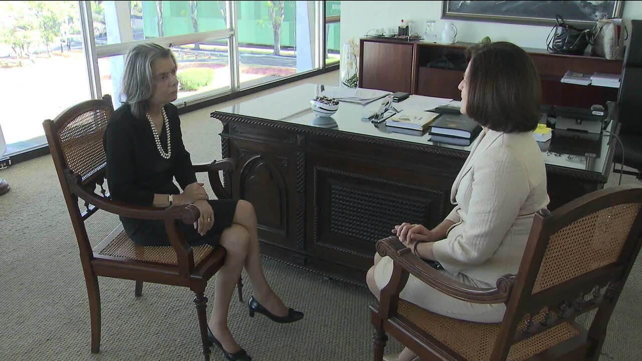 Futura procuradora-geral, Raquel Dodge se encontra com a presidente do STF, ministra Cármen Lúcia