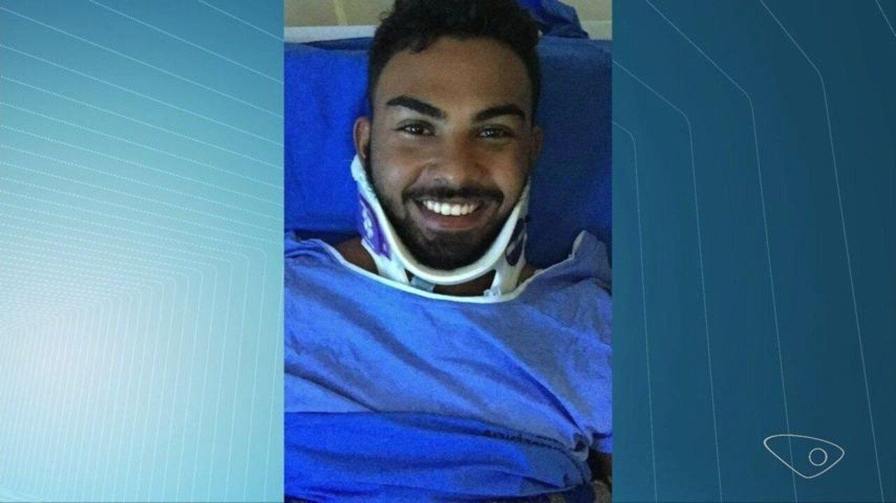 Atleta que aguardou cirurgia por 18 dias após bater em cavalo é operado em Vitória