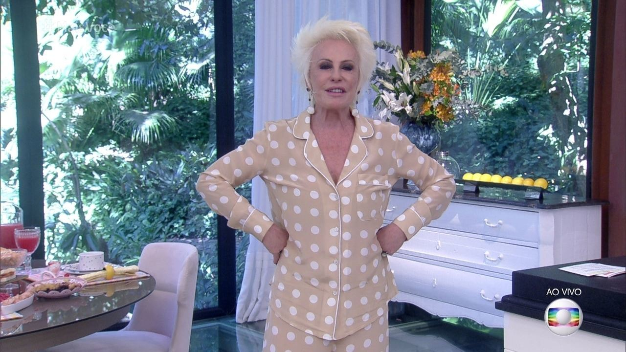 Ana Maria explica a 'Moda Pijama'