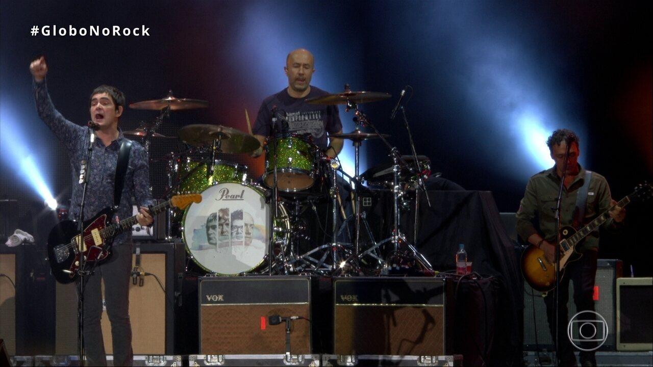 Skank abre show no Rock in Rio 2017 com a música 'Do Mesmo Jeito