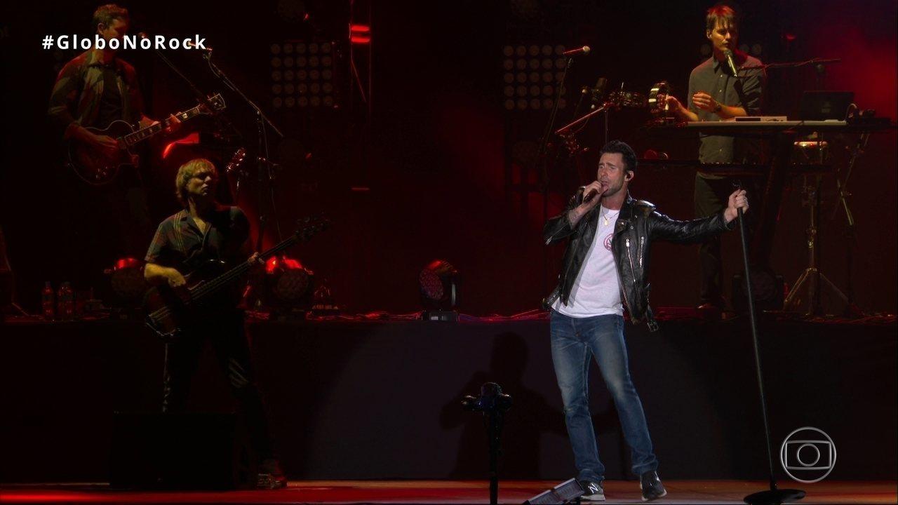 Maroon 5 toca 'This Love' no Rock in Rio 2017
