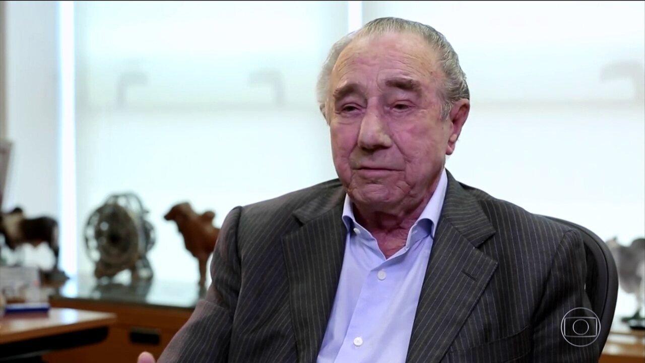 Fundador vai reassumir presidência da JBS após prisão dos filhos