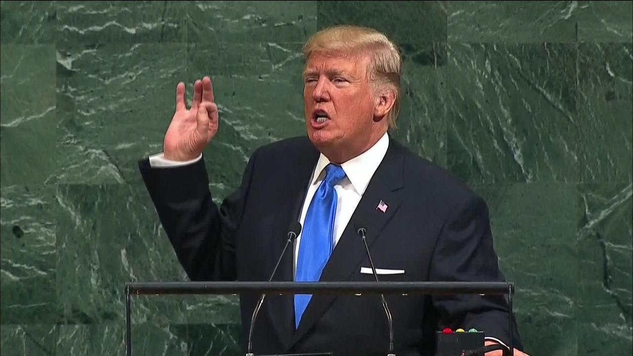 'Se formos forçados, teremos que destruir totalmente a Coreia do Norte', afirma Trump