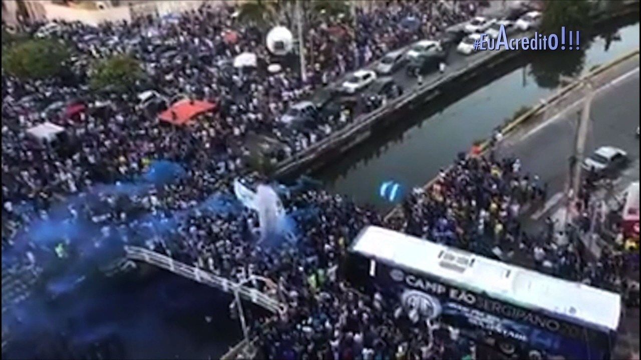 #EuAcredito: Confira o clipe do Globo Esporte SE exibido nesta terça, 19/09