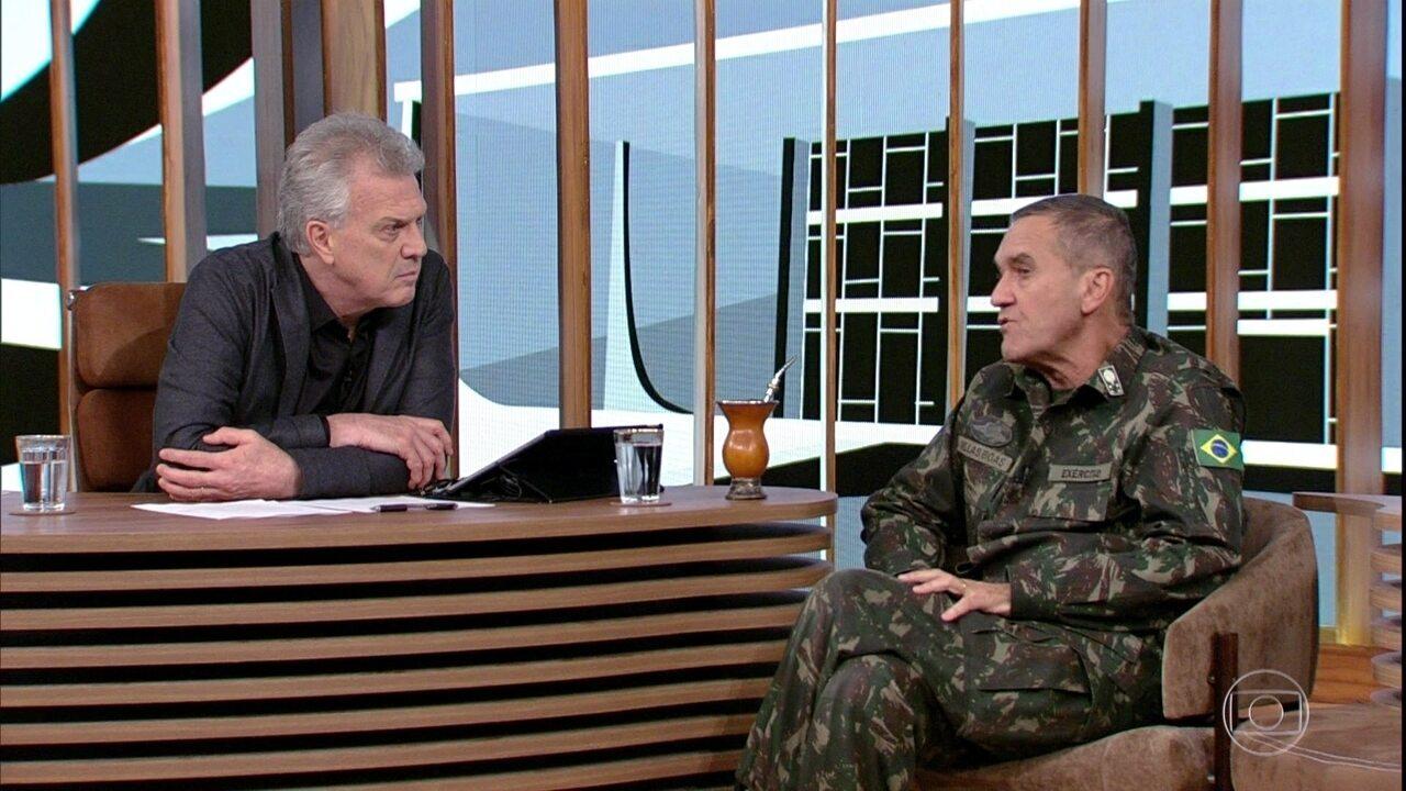 Eduardo Villas Bôas comenta ocupações no Haiti e no Rio de Janeiro