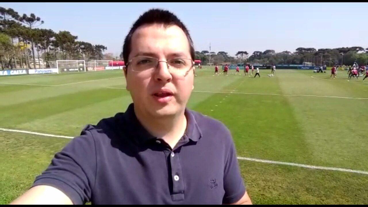 Por dentro do treino: Confira quem está fora e quem volta para o jogo contra o Santos