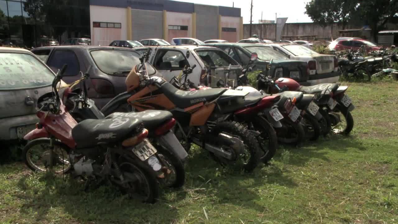 PRF promove leilão de quase 2 mil veículos apreendidos