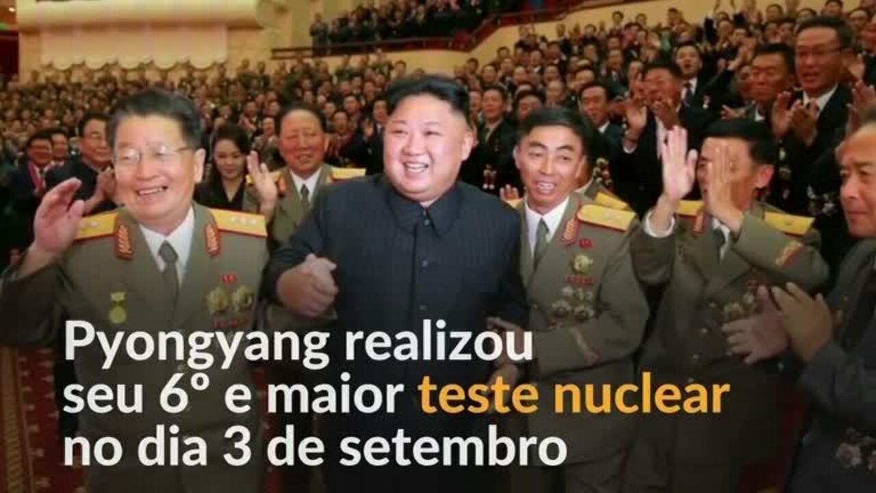 Kim Jong-un chama Donald Trump de 'mentalmente perturbado'
