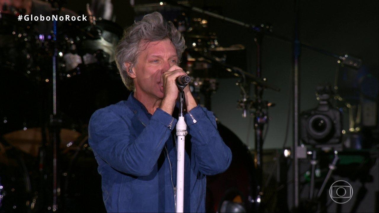 Bon Jovi apresenta mais um sucesso do último disco: