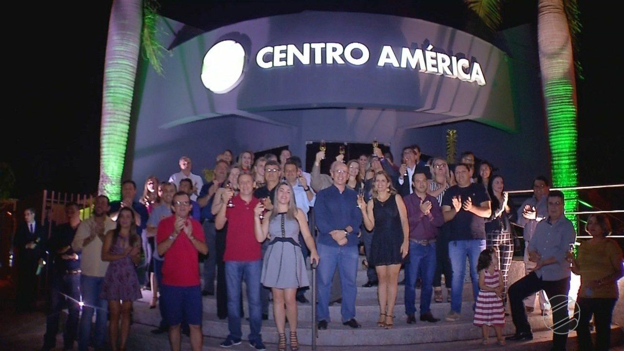 Festa de lançamento da nova marca da TV Centro América em Tangará da Serra