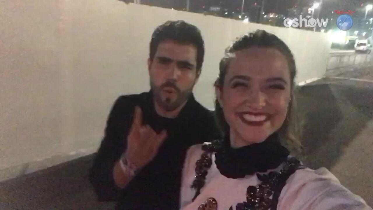 Juliana Paiva e Juliano Laham chegam ao Rock in Rio 2017