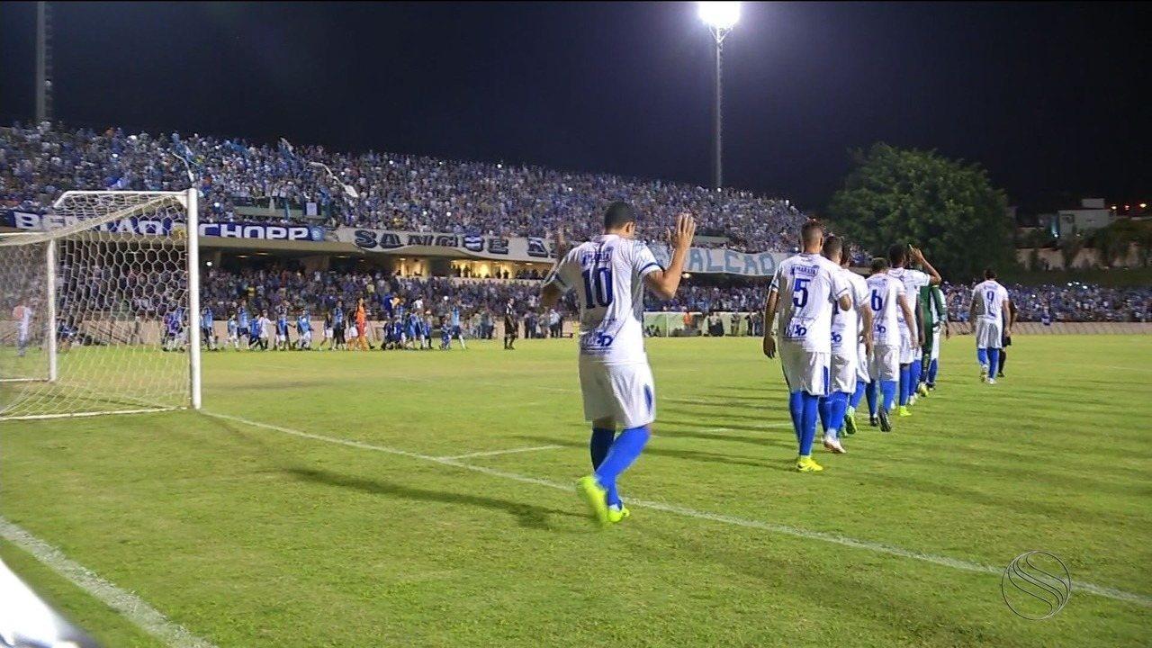 Confiança empata com São Bento em 0 a 0