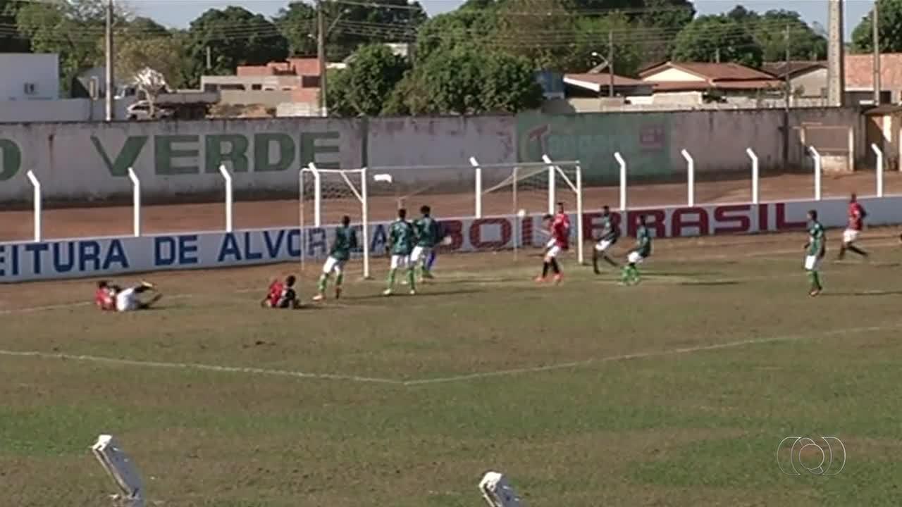 Capital goleia Alvorada por 8 a 2 em jogo de ida da segunda fase do Sub-19