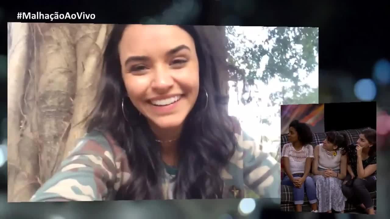 Talita Younan se emociona ao mandar recado para o diretor e elenco de Viva a Diferença
