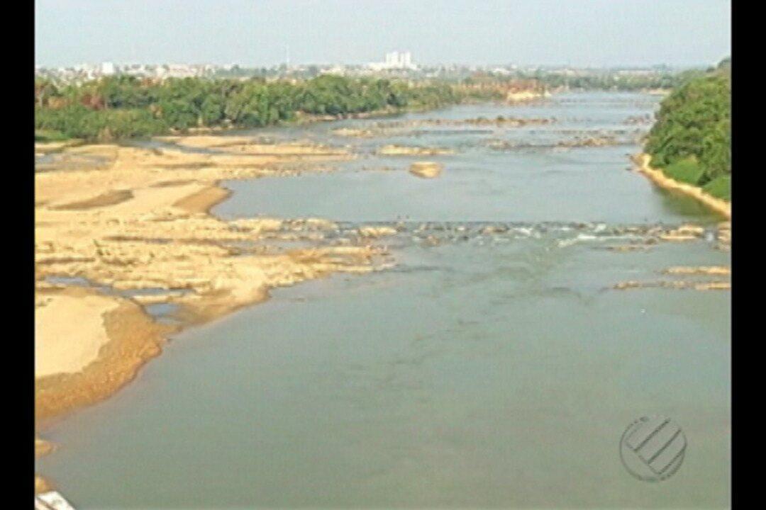 Em Marabá situação de seca nos rios preocupa moradores