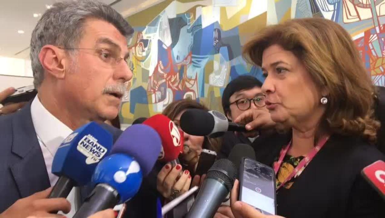 Romero Jucá (PMDB-RR) fala sobre fundo eleitoral