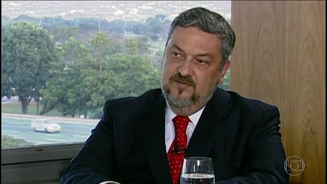 Palocci envia carta ao PT com duras críticas e pedido de desfiliação