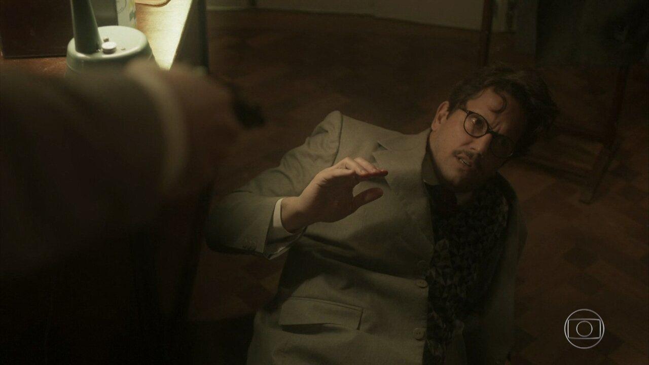Zózimo descobre que foi enganado por Lídia e Marli chora pelo detetive