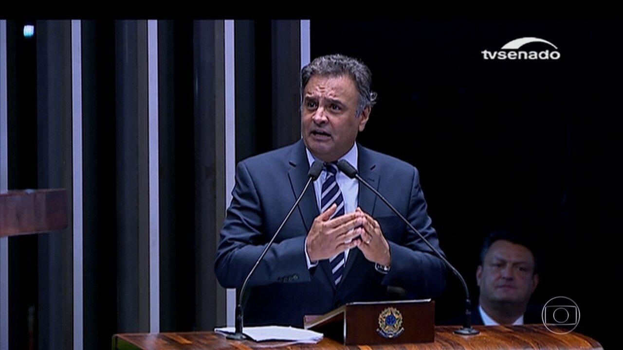 Decisão de afastar Aécio Neves do mandato gera divergências dentro do Supremo