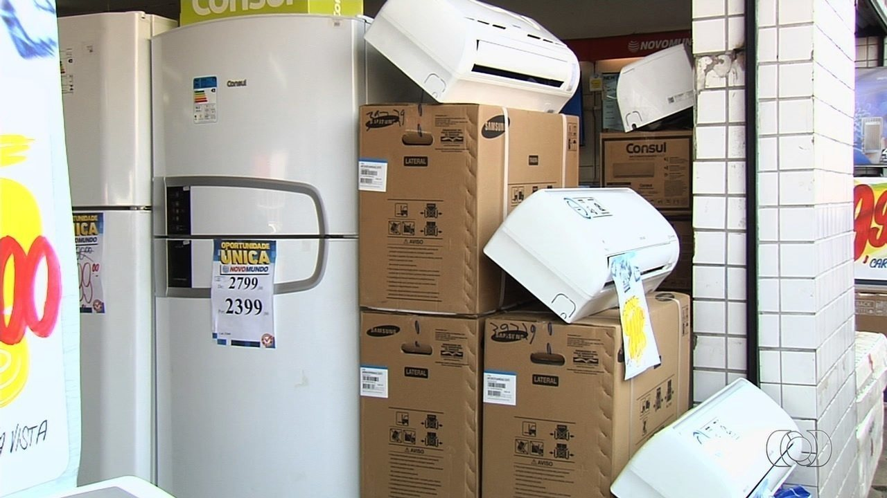 Celg apresenta programa de descontos para compra de geladeira e ar condicionado