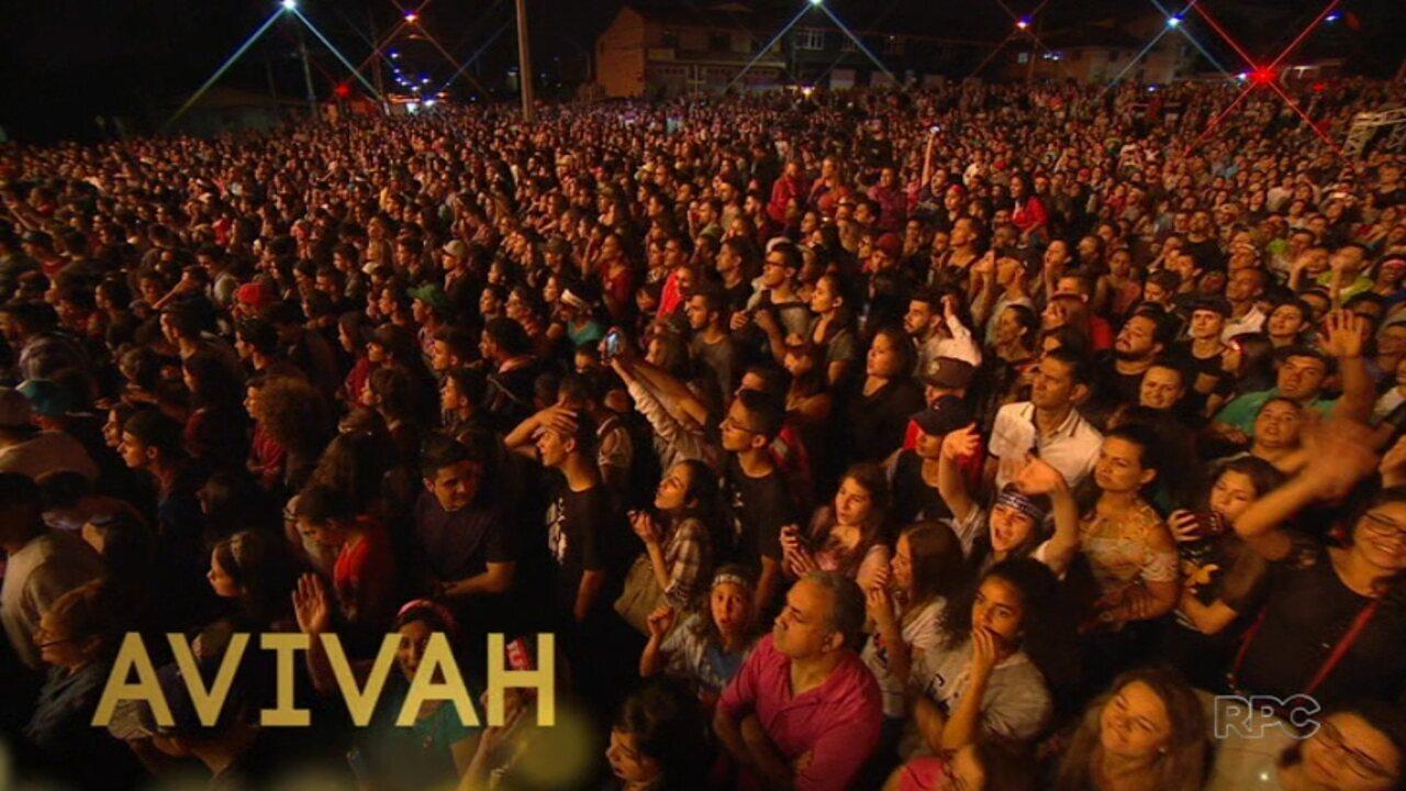 Festival Promessas: assista ao show do Avivah na íntegra