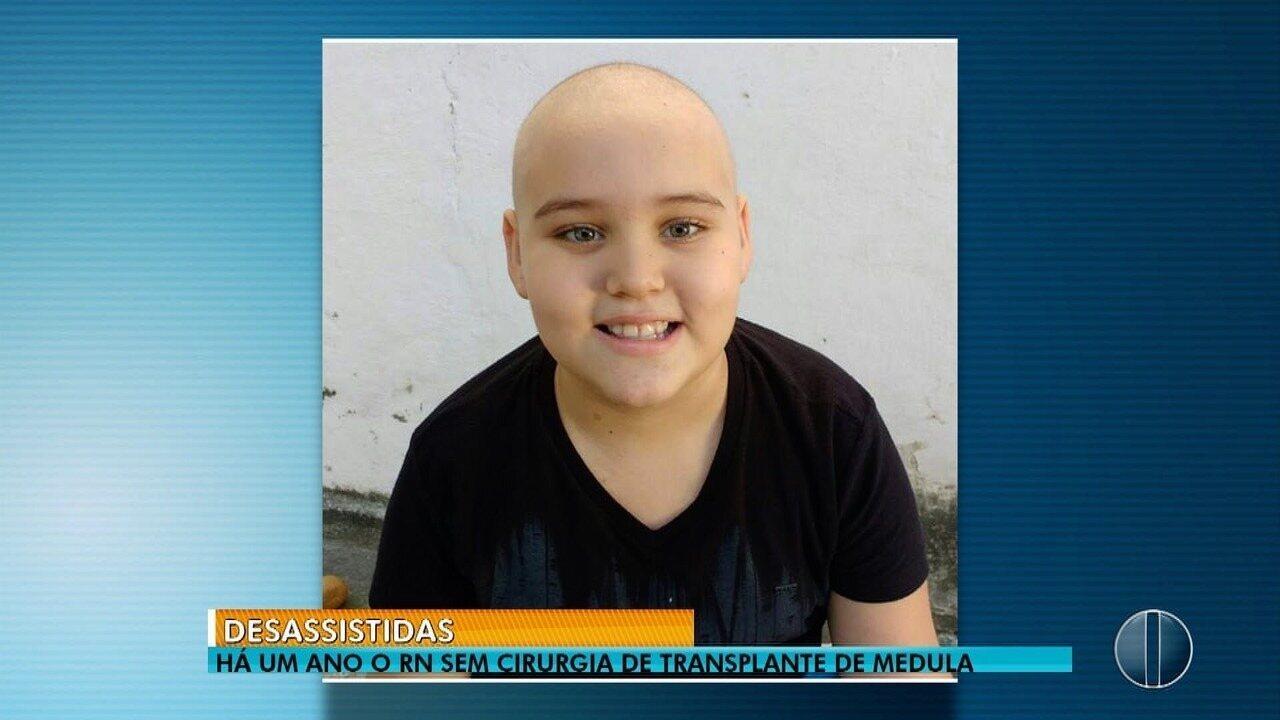 20 crianças morrem pela falta de transplante de medula no RN