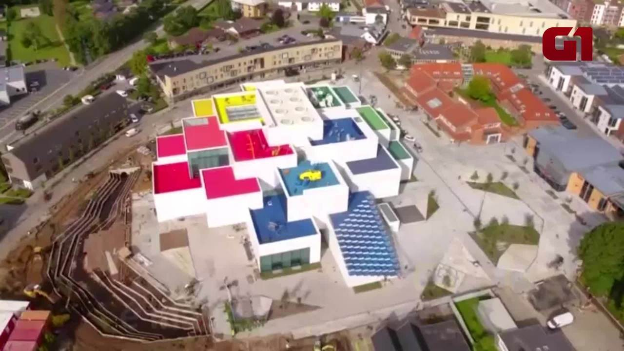 Casa Lego é inaugurada na Dinamarca