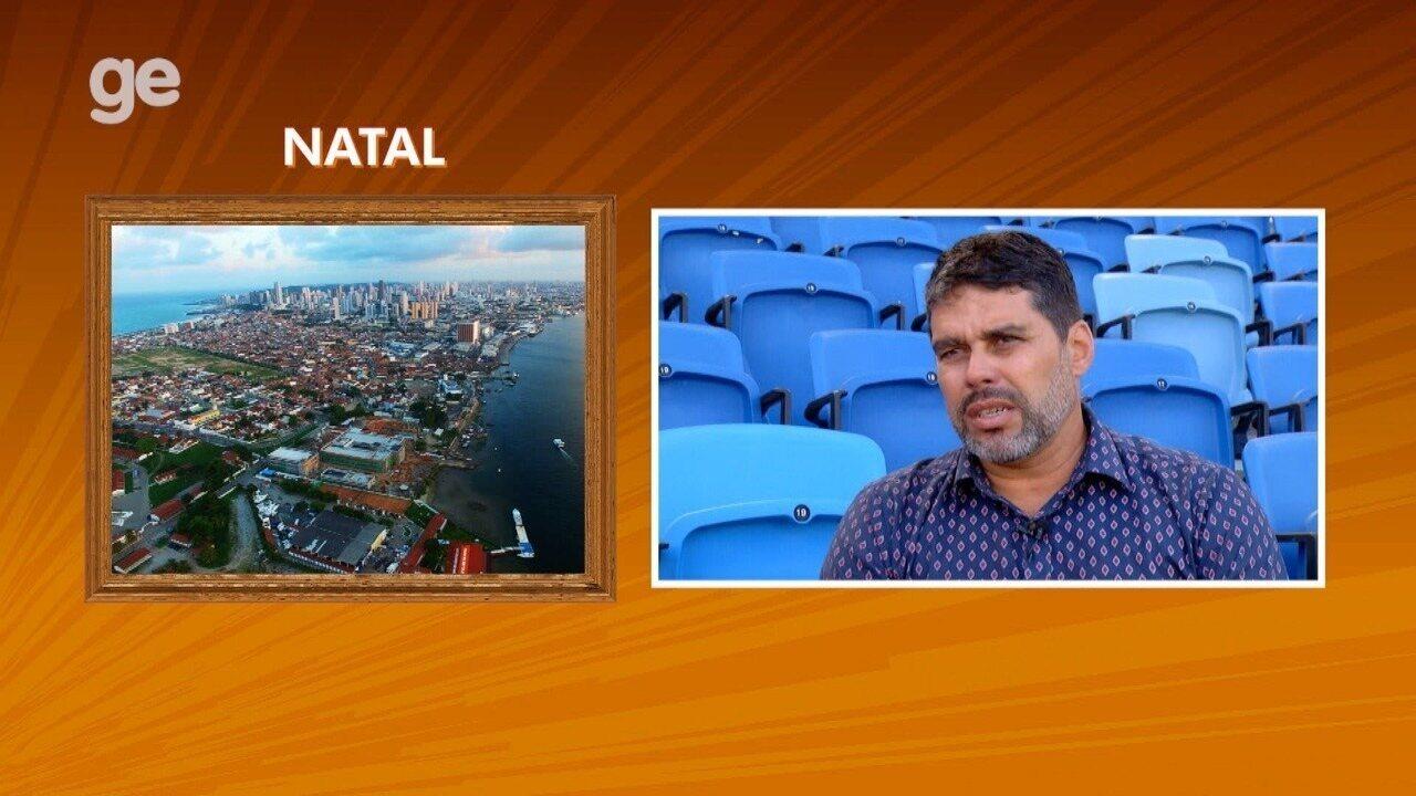 Técnico Leandro Sena fala sobre Natal no quadro