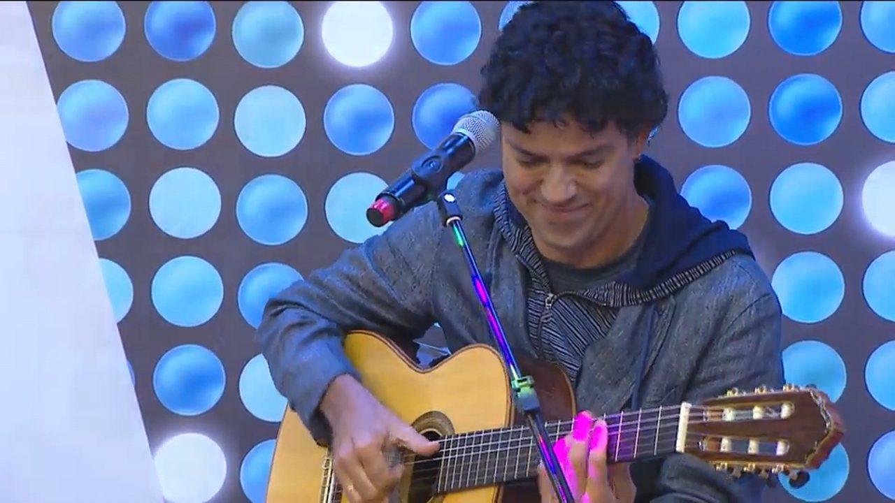 'Estúdio C' deste sábado (7) vai receber o cantor Jorge Vercillo